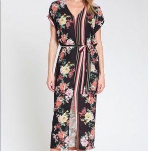 dRA Los Angeles Camilla Dress ~ Mixed Floral Print